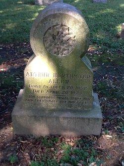 Rev Arthur Huntington Allen