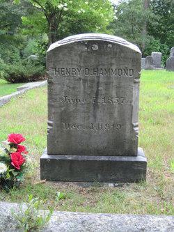 Henry D Hammond