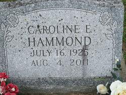 Caroline E Hammond