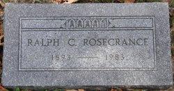 Ralph C Rosecrance
