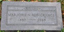 Marjorie <i>Newton</i> Rosecrance