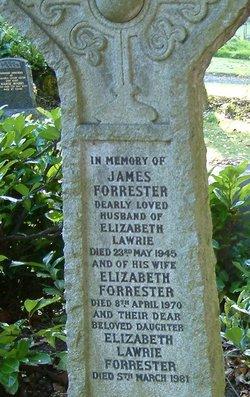 Elizabeth <i>Lawrie</i> Forrester