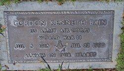 Gordon Kenneth Bain