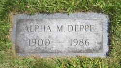 Alpha M. Deppe