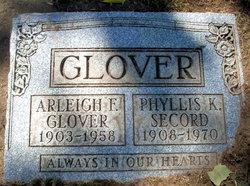 Phyllis K. <i>Secord</i> Glover