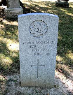 Corp Ezra Lee