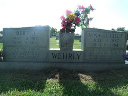 Vina Lucille Teeny <i>Smith</i> Wehrly