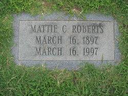 Mattie V <i>Crumpler</i> Roberts
