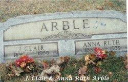 Mrs Anna Ruth <i>Timblin</i> Arble