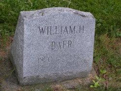 William H Baer