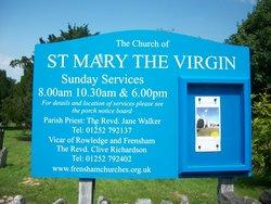 Frensham St Mary the Virgin Churchyard