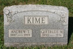 Gertrude <i>Morrison</i> Kime