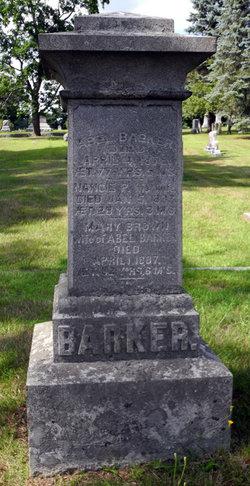 Nancie Porter <i>Dodge</i> Barker