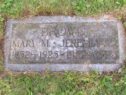 Mary <i>Mechlin</i> Brown
