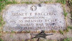 Sidney E Bacchus