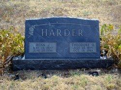 Theodore O Harder