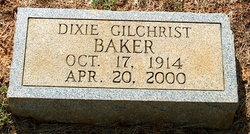 Dixie <i>Gilchrist</i> Baker