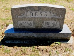 Mrs Lona Lee <i>Keller</i> Bess
