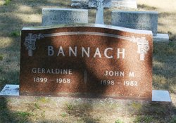 John M Bannach