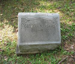 Georgia A. <i>Dils</i> Adams