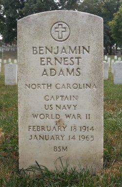 Benjamin Ernest Adams