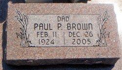 Paul Pershing Brown