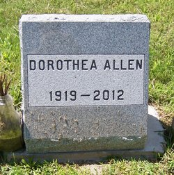 Dorothea Allen