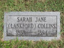 Sarah Jane <i>Lankford</i> Collins