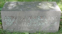 Anna Jones Welles <i>Lovering</i> Howland