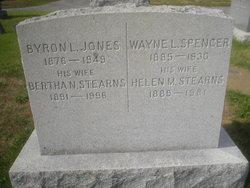 Bertha Natalie <i>Stearns</i> Jones