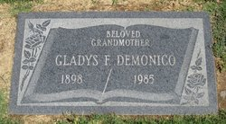Gladys Florence <i>Schutt</i> Demonico