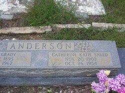 Catherine Katie <i>Sneed</i> Anderson
