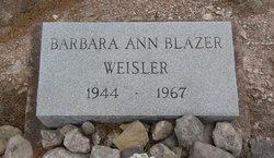 Barbara Ann <i>Blazer</i> Weisler
