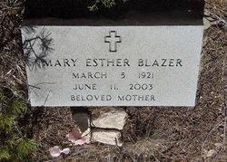 Mary Esther <i>McMurry</i> Blazer
