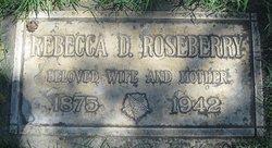 Rebecca <i>Davis</i> Roseberry