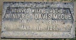 Winifred Davis McCue