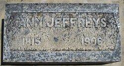 Ann <i>Jenkins</i> Jeffreys
