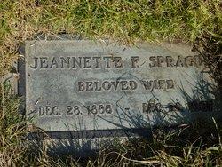 Jeannette Frances <i>Hendrickson</i> Sprague
