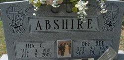 Ida <i>Charlton</i> Abshire
