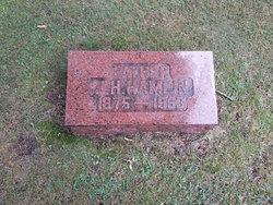 James Harvey JH Hamlin