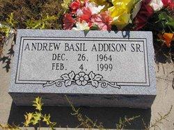Andrew Basil Addison, Sr