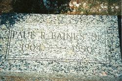 Paul Raymond Baines, Sr