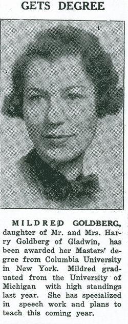 Mildred Goldberg