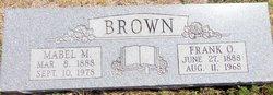 Mabel Marcell <i>Talkington</i> Brown