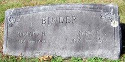 Mrs Mary F. Mamie <i>Landis</i> Binder