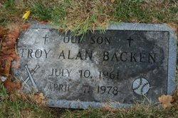 Troy Alan Backen