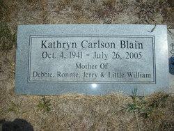 Kathryn <i>Carlson</i> Blain