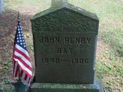 John Henry Bax
