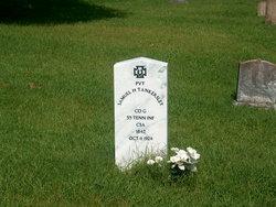 Pvt Samuel H Tankersley