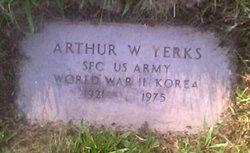 Sgt Arthur W. Yerks